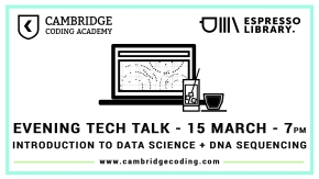 Free Tech Talk – An Introduction to Data Science + DNA Sequencing